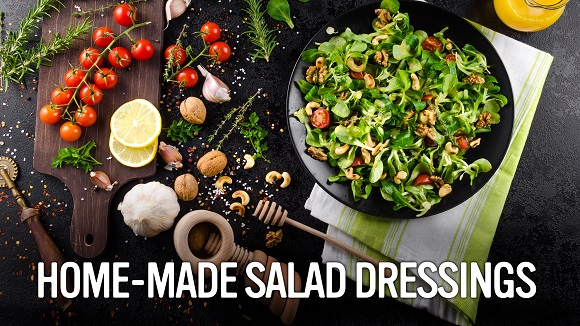 Home-made salad dressings