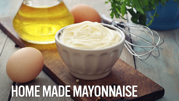 How to make mayonnaise from scratch