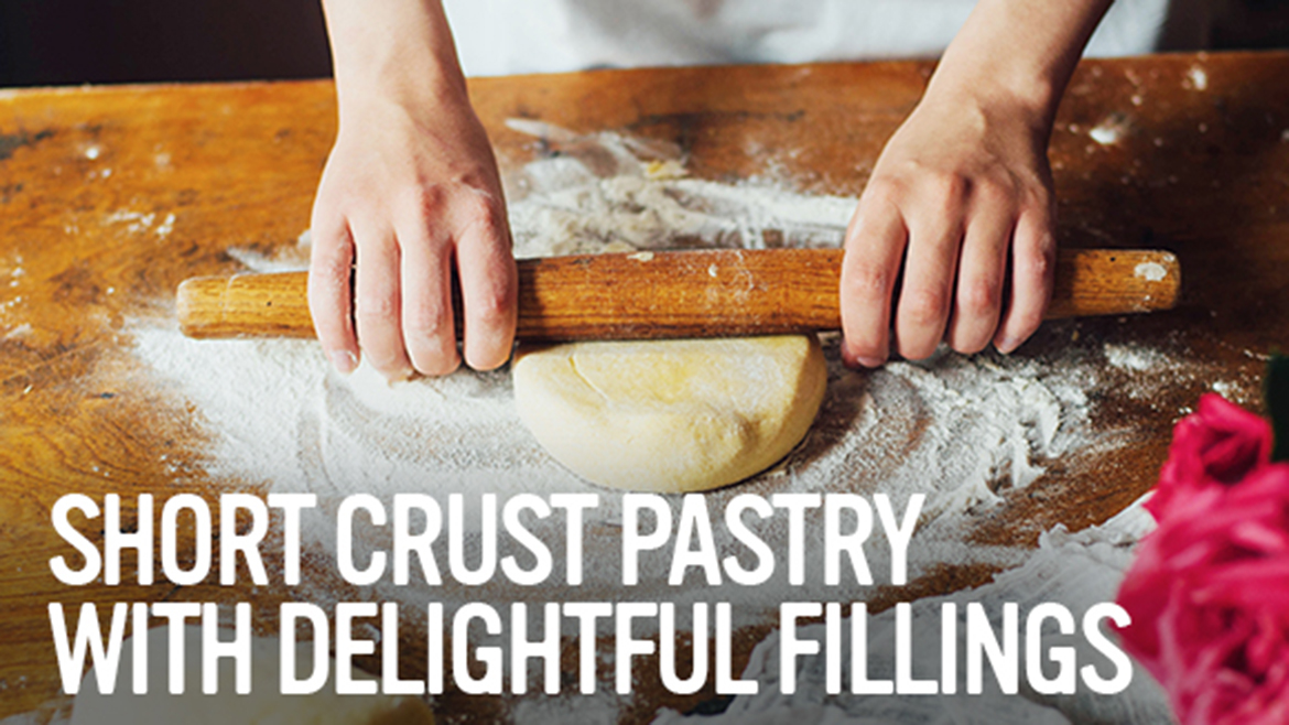 Short crust pastry with delightful fillings