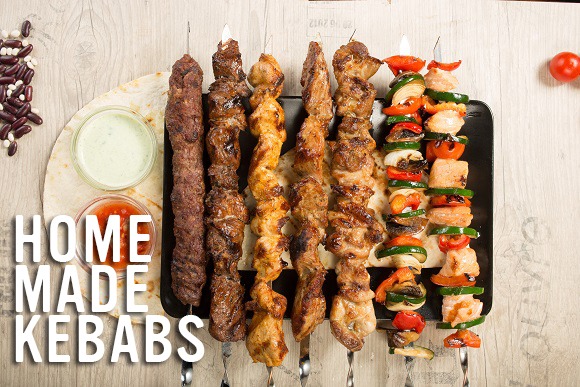 Home made Kebabs