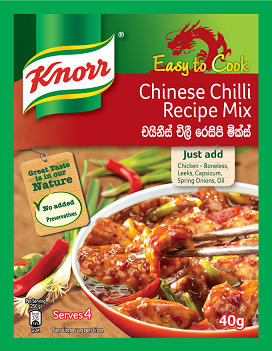 Knorr Chinese Chilli Recipe Mix