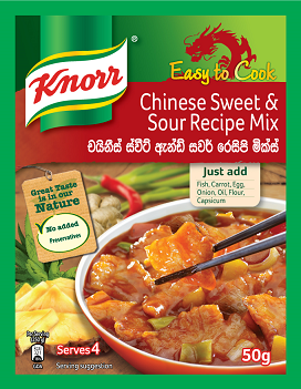 Knorr Chinese Sweet & Sour Recipe Mix