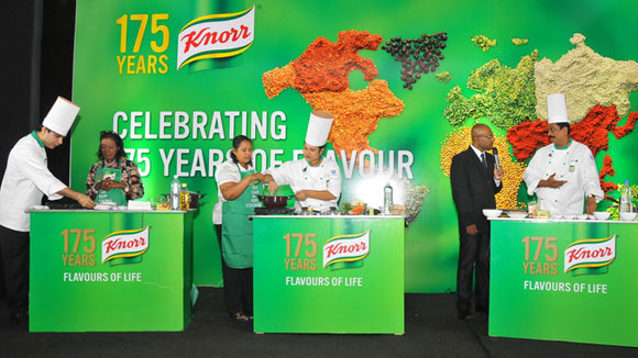 Knorr celebrates 175 years of food and flavour